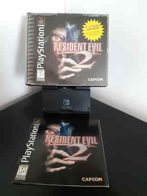 $16.50 • Buy Resident Evil 2 Ps1 75% Complete FREE SHIPPING Playstation 1