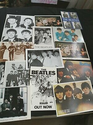 Large Collection Of Vintage The Beatles Photograph Postcards  • 19.95£
