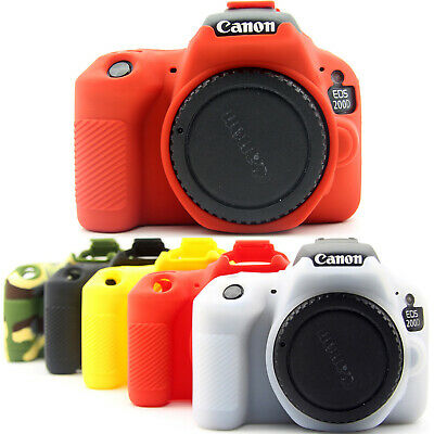 Camera Bag Soft Silicone Rubber Protective Body Cover Case For Canon 200D 850D • 14£