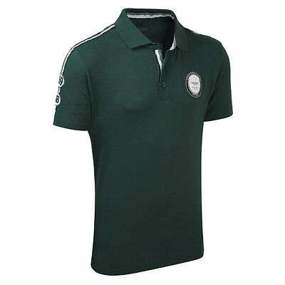 ASTON MARTIN RACING HERITAGE POLO SHIRT -LE MANS-Xs And X-Large 40-42 Only • 16.99£