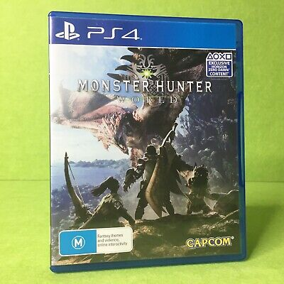 AU29.95 • Buy Monster Hunter World | PS4 | Warranty | Playstation 4 |
