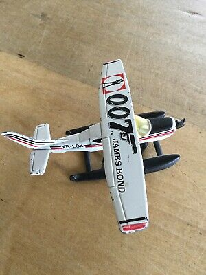 1974 James Bon 007 Matchbox Cessna Sea Plane Toy • 2.99£