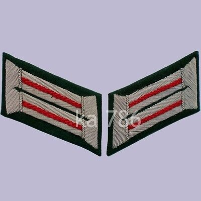 Ww2 German Army Officer Artillery Wehrmacht Heer Collar Tabs Ad162 • 13.25£
