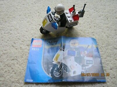 Lego City Police Bike 7235 • 0.99£