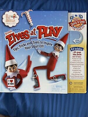 AU20.12 • Buy Elf On The Shelf Elves At Play Activity Box With Book Tips Tricks And Tools