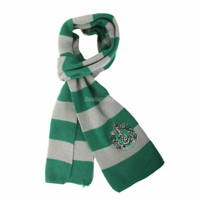 $ CDN11.79 • Buy Harry Potter Slytherin House Cosplay Knit Wool Costume Scarf Halloween Costume