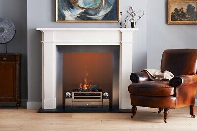 Chesneys White Limestone Fireplace Victorian Style • 299£