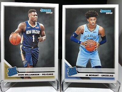 $50 • Buy Zion Williamson And JA Morant Rated Rookie. Please Read Description