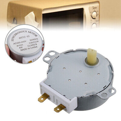 £2.99 • Buy 49TYZ-A2 AC 220-240V CW/CCW 4W 4 RPM Metal Synchronous Motor For Microwave Ovenღ