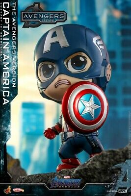 $ CDN38.74 • Buy Hot Toys COSB781 COSBABY Avengers Endgame Captain America W/Shield Toy