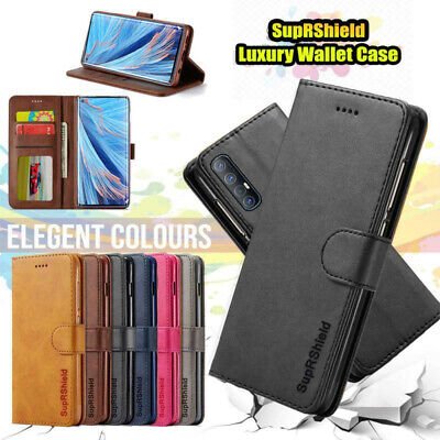 AU10.49 • Buy For Oppo Find X2 Neo Lite Pro Wallet Flip Case Leather Card Slots Magnetic Cover