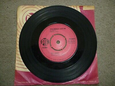 The Kinks - You Really Got Me/ It's All Right   Pye 7N.15673  1964   7 Single • 12.99£