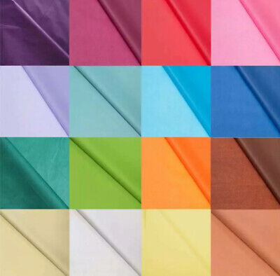 £3.40 • Buy Coloured Tissue Paper High Quality Acid Free  Bio Recyclable - 22 Colours