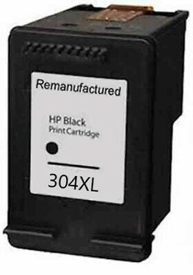Refilled HP 304 XL Black Ink Cartridge For Use With HP 304XL • 12.99£