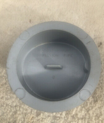 Brand New 110mm Straight Inspection Pipe Grey 76mm Cap • 5.99£
