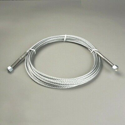 "$ CDN56.62 • Buy 32' 5-7/16"" X 1/4  Lift Cable For ROTARY Lfits (2 Threaded Studs)"