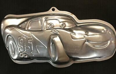 Wilton Cake Pan Lightning McQueen Disney/Pixar Mold No 2105-6400 • 6.38£