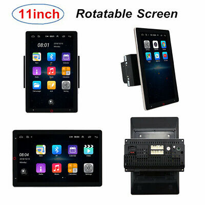 $210.99 • Buy 11  Rotatable Screen Android Car Stereo Radio Navigation Bluetooth Multimedia