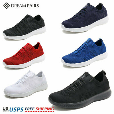 $13 • Buy DREAM PAIRS Mens Fashion Running Shoes Outdoor Indoor Athletic Sneakers Black
