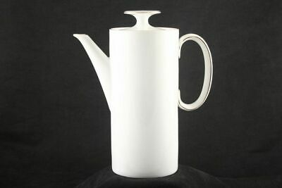 £39.65 • Buy Thomas - Medaillon Gold Band - White With Thin Gold Line - Coffee Pot - 66879G