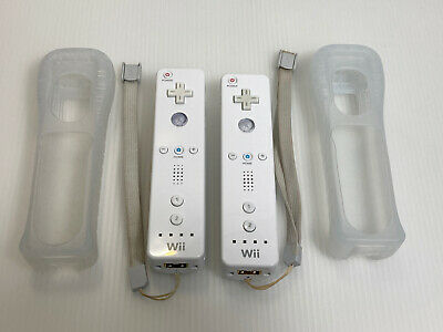 $ CDN44.82 • Buy 2 Wii Remote Tested OEM Nintendo RVL-003 Tested Works