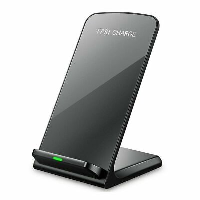 AU19.99 • Buy Wireless Charger Qi Fast Charging Stand Dock Station For IPhone 11 Pro XR X 8 SE