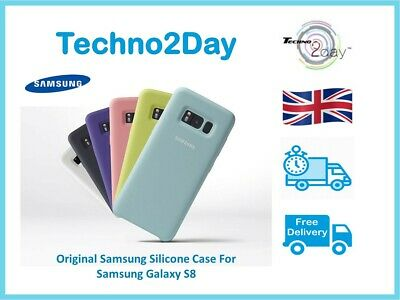 $ CDN17.62 • Buy Official Samsung Galaxy S8 Silicone Case / Cover Matte Finish EF-PG950