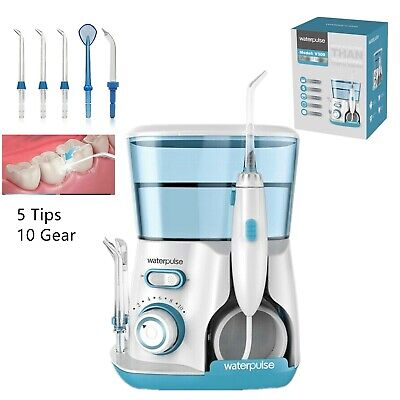 View Details 800ML Electric Water Jet Pick Dental Flosser Oral Irrigator Teeth Tooth Cleaning • 44.99$