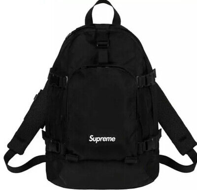 $ CDN375.40 • Buy Supreme Backpack Black Os Fw19 100% Authentic *in Hand*fast Shipping *brand New*