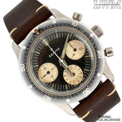 $8999 • Buy ZENITH Chronograph A277 Sub Sea Diver First Series Ghost 1960