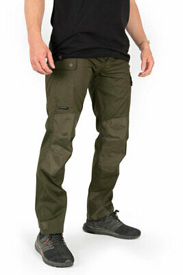 New Fox Collection HD Green Un-lined Cargo Trousers - All Sizes - Carp Fishing • 54.98£