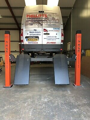 4 Post Lift /car  Vehicle Ramp  5t Four Post/ Inc. 3t Jacking Beam & Install • 6,594£