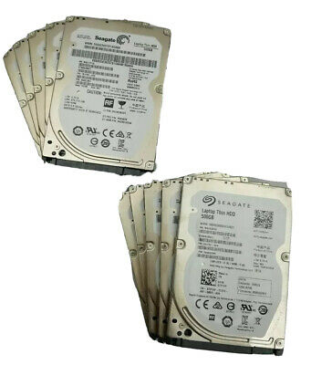 $ CDN118.89 • Buy LOT OF 5, 10 & 15 250GB HDD 2.5  SATA TESTED WORKING LAPTOP Hard Drives