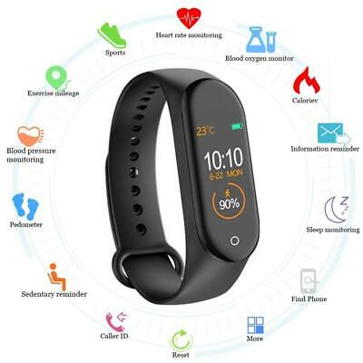 $ CDN9.34 • Buy M4 Smart Bracelet Watch Sport Wristband Fitness Pedometer Blood Pressure Monitor