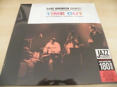 DAVE BRUBECK QUARTET Time Out The Stereo & Mono Version (US IMPORT, SEALED) LP • 24.99£