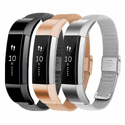 $ CDN10.06 • Buy For Fitbit Alta / Alta HR Band Strap Stainless Steel Magnetic Milanese Wristband