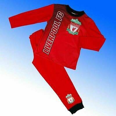 BOYS OFFICIAL LIVERPOOL FOOTBALL CLUB LFC PYJAMAS AGES: 4-5 Up To 11-12 YEARS • 5.99£