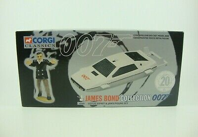 $ CDN80.28 • Buy Corgi James Bond Collection 007 Lotus Esprit Diecast Car Mini Figure Set Used