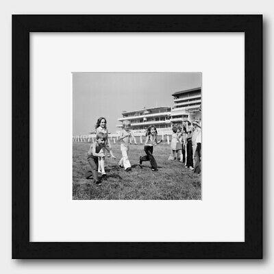 Children Egg And Spoon Race At Epsom's Downs England 1973 Print 1 • 27£