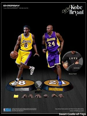 $519.95 • Buy 1/6 Enterbay NBA Collection Los Angeles Lakers Kobe Bryant Upgraded Ver RM-1065