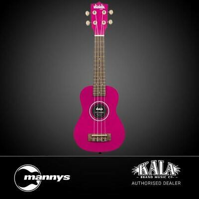 AU47 • Buy Kala Ukadelic Dragon Fruit Soprano Ukulele Inc Drawstring Bag