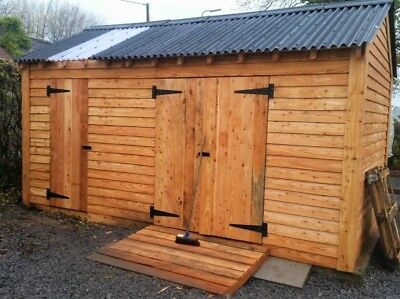 £10.85 • Buy Redwood Timber Cladding. High Quality Larch, Douglas And Red Cedar Weatherboard.