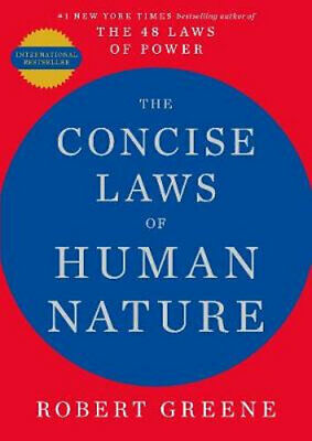 AU20.95 • Buy NEW The Concise Laws Of Human Nature By Robert Greene Paperback Free Shipping