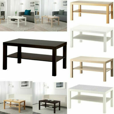 Ikea LACK Coffee Side Table Home Office Bedroom Living Room Table 90 X 55 Cm F&F • 34.99£