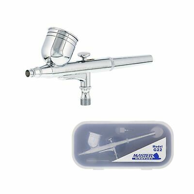 $31.89 • Buy Multi-Purpose Dual-Action Gravity Feed Airbrush Set /a 0.3mm Tip & 1/3 Oz. Cup