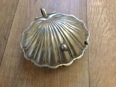 Manco  Electroplated  Vintage / Art Deco / Antique / Clam / Shell / Butter Dish  • 20£