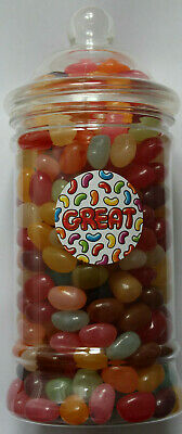 Jelly Belly Beans 450g Victorian Gift Jar 16 Flavours Christmas, Birthday, Treat • 15.39£