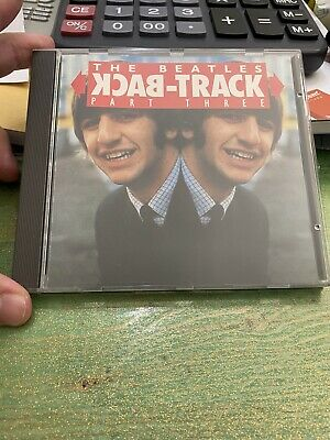 £51.32 • Buy The Beatles Back Track Part Three CD 1993 Silver Factory Pressed ! Rare