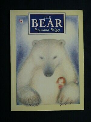 £8 • Buy RAYMOND BRIGGS. THE BEAR. 1st PAPER-BACK EDITION 1994. RED FOX