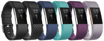 $ CDN60.62 • Buy Fitbit Charge 2 Activity Tracker + Heart Rate Watch Small Large Black Blue Plum